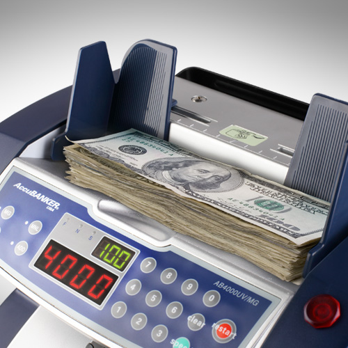 2-AccuBANKER AB 4000 UV/MG money counter