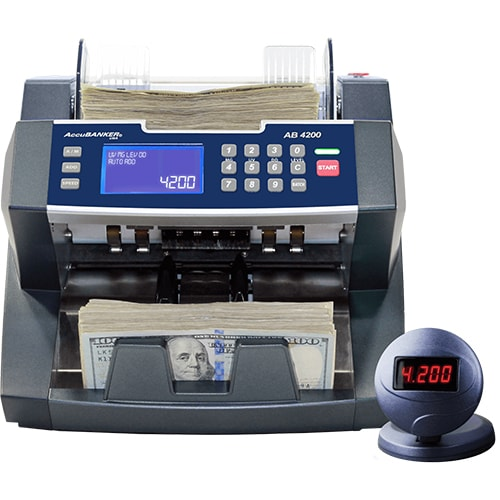 1-AccuBANKER AB 4200 UV/MG money counter