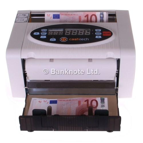 3-Cashtech 340 A UV  money counter