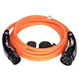 EV Type2 -> Type2 orange (3x32A) EV Laddkabel