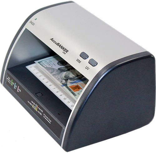 2-AccuBANKER LED420 counterfeit detector