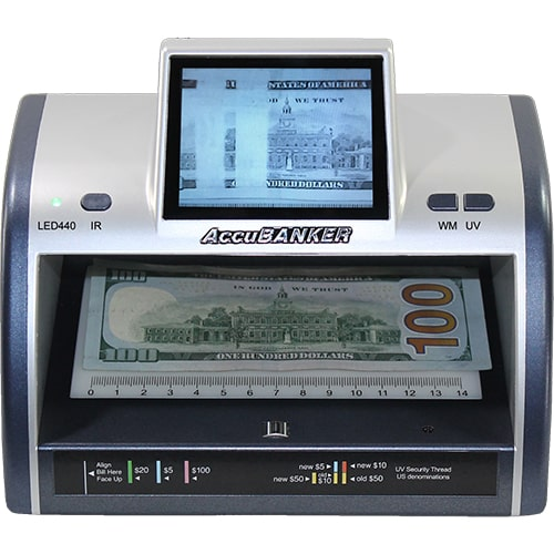 1-AccuBANKER LED440 verificator de bancnote
