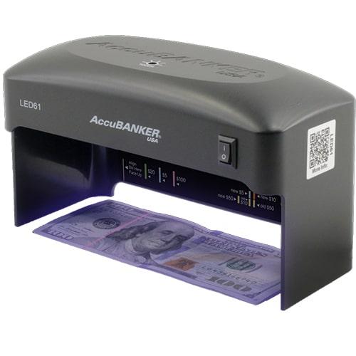 1-AccuBANKER LED61 verificator de bancnote